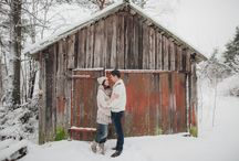 Фотосессии Love Story зимой