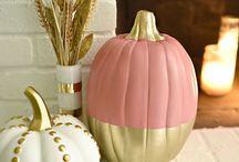 pumpkins painted