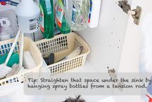 cleaning tips and tricks  / by Candace Guice