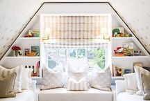 attics and small spaces / Things about odd spaces and weird angles