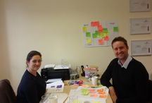 Workshops with our fab clients / Creative thinking and visual facilitation