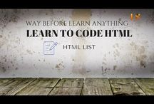 Learning Simplified / Web design and development tutorial for beginners, tech and other related software information for all