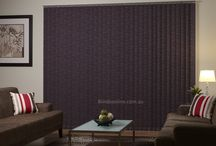 Vertical Blinds / A versatile blind that is ideal for rooms with sliding doors