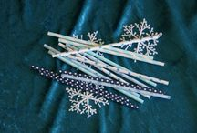 Paper Straws for all occasions / Lovely retro paper straws and ideas