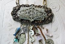 crafts - jewelry / assembleage/upcycled