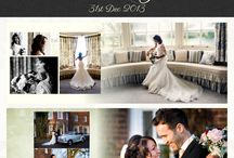 Featured Wedding Albums / It's fun to share some of the albums we design - here are some of the ones we especially like.