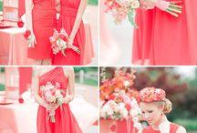 Wedding - Coral