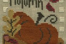 Cross Stitch - Autumn