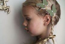 Cabelo - Menina / Inspirações de cortes de cabelo, penteados e acessórios para meninas.