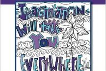 Doodle Art Alley Books / Pages of Awesome Doodle Quotes and designs....available now!! / by Doodle Art Alley