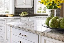 Cutting Boards & Countertops / Kitchen inspiration.