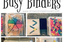 busy bag / book