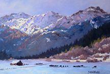 Deborah McAllister / Deborah McAllister, a Colorado painter, passionate about color.