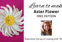 CROCHET FLOWER PATTERNS / CROCHET FLOWERS
