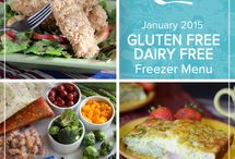 Gluten Free Dairy Free January 2015 / Get a simple and stress-free start to the new year by stocking your freezer with this Gluten Free Dairy Free January 2015 Menu bringing together something for every meal from baked pancakes to slow cooked pork chops. / by Once A Month Meals