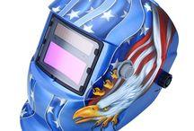 American Eagle Welding Mask / Limited Edition American Eagle Welding Mask - FREE SHIPPING Buy here >>> https://goo.gl/2E9EN3 View Area: 92*42 mm Cartridge Size: 35*25*21 cm Helmet Material: PP