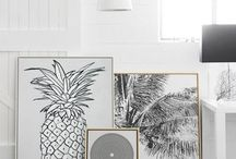 Pineapples decor