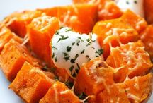 Sweet potato foods