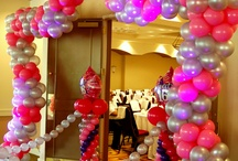 Sweet 16 Balloon & Event Decor  / Sweet 16 decorations