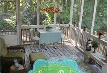 Porch Ideas / Sometimes a deck just won't do. You have your reasons..maybe some of those are to stay out of the elements of wind, rain and snow, or the UV rays during the heat of the summer. Whatever your reasoning, we have brought you the best in screened porch designs!