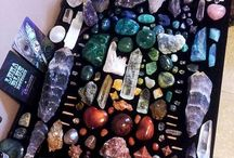Crystals,Gems and Minerals