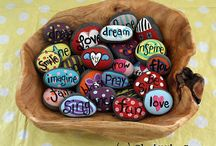 Art - Rocks / by Cathy Winn