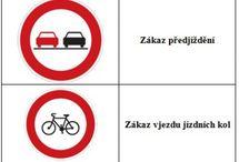 výukové listy - dopravní značky