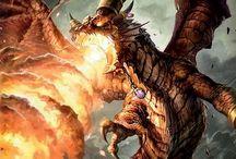 Dragons, Creatures