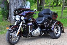 motorcycles, trikes and sidecards