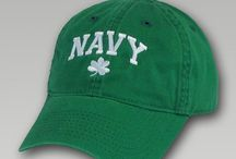 St. Patrick's Day Military Collection Tees & Hats / Irish inspired military shirts and hats are perfect for any day of the year.  Show your pride this St. Paddy's Day with one of these fun and exclusive shamrock tees or hats.