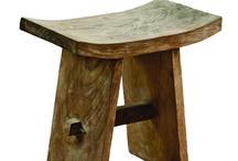 σκαμπό ξύλινα