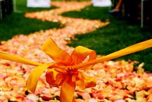 Orange Wedding Inspiration / All things bright and orange to inspire your wedding!