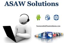 ASAW Solutions / Ask for #software #android and #website solutions..  we also provide online marketing services...