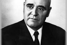 Gheorghe Gheorghiu-Dej  (1901 – 1965). / Gheorghe Gheorghiu-Dej,  communist leader of Romania from 1947 until his death in 1965.On 30 December 1947, Gheorghiu-Dej and Prime Minister Petru Groza forced King Michael to abdicate. Enver Hoxha alleged that Gheorghiu-Dej personally pulled a gun on Michael and threatened to kill him unless he gave up the throne.In his late years, Gheorghiu-Dej established diplomatic relations with the First World. 1964 was the year many political prisoners were released.
