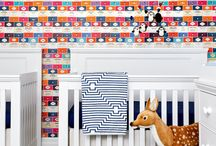 children's decor / Decorating a nursery or kids' room? Find inspiration from these beautifully decorated spaces.