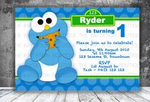 Cookie Monster Party Printable