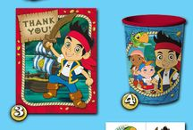 EVENTS: pirate party ideas / Ideas for William's second birthday.