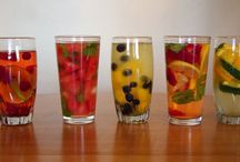 Recipes - Water / Awesome ideas and inspiration to drink more (delicious and nutritious) water