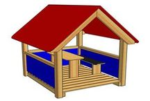 Domeček na zahradu