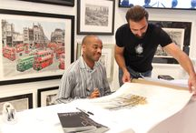 In store signing at the gallery 14th May 2015
