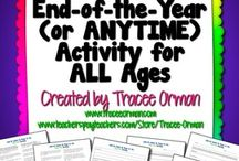 End of the year activities! / by Suzy Trowbridge