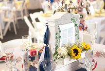 """""""County Fair"""" - The Barclays 2013 / Sponsored by Barclays and Carousel Designs.  Support from Birdies for the Brave, Petunia Pickle Bottom, The Barclays. Table designs based on graphic designs by Hostess with the Mostess. Photos by Uptown Girl Photography"""""""