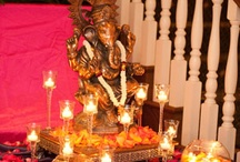 dressing Ganesh