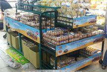 Kệ sắt quảng cáo / kệ sắt quảng cáo, kệ sắt siêu thị, hanger quảng cáo sắt, thi công kệ sắt, bàn sampling, bàn bán hàng, kệ sữa
