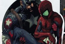Cap & Spidey / Greatest team of heroes in the history of comics!!
