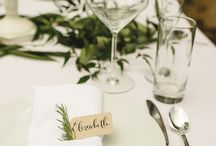 wedding table ideas itallian