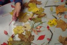 natural and recycled materials for toddlers