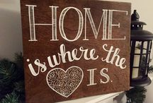 Home Is Where ❤️ Is / by Brandy Jones