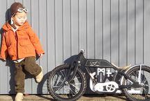 balancebike / Dunecraft Balance bikes, hand made of birchwood,