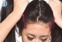 Massagem para  cabelo
